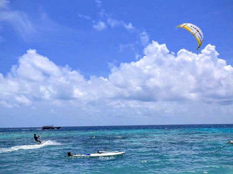 Kitesurfing, Kaani Village and Spa