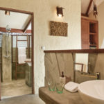 bathroom beach villa