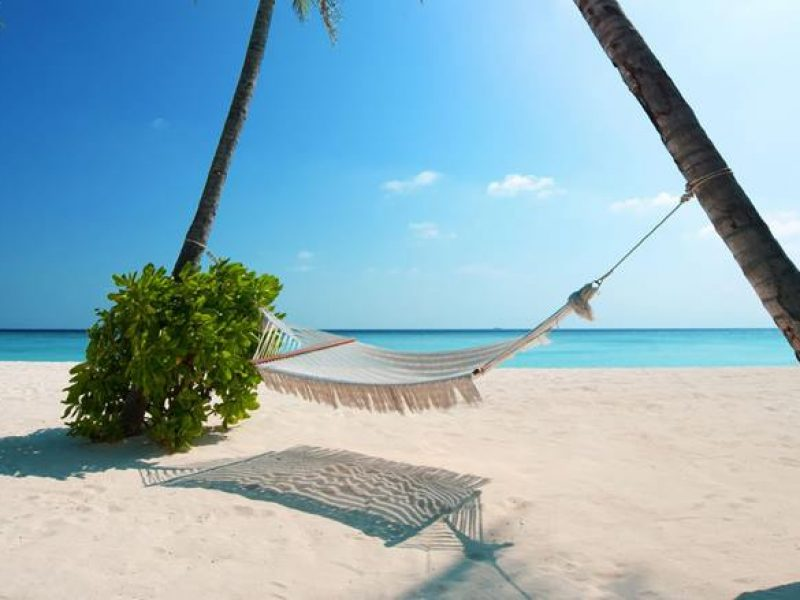 Beach hammock, Crystal Sands
