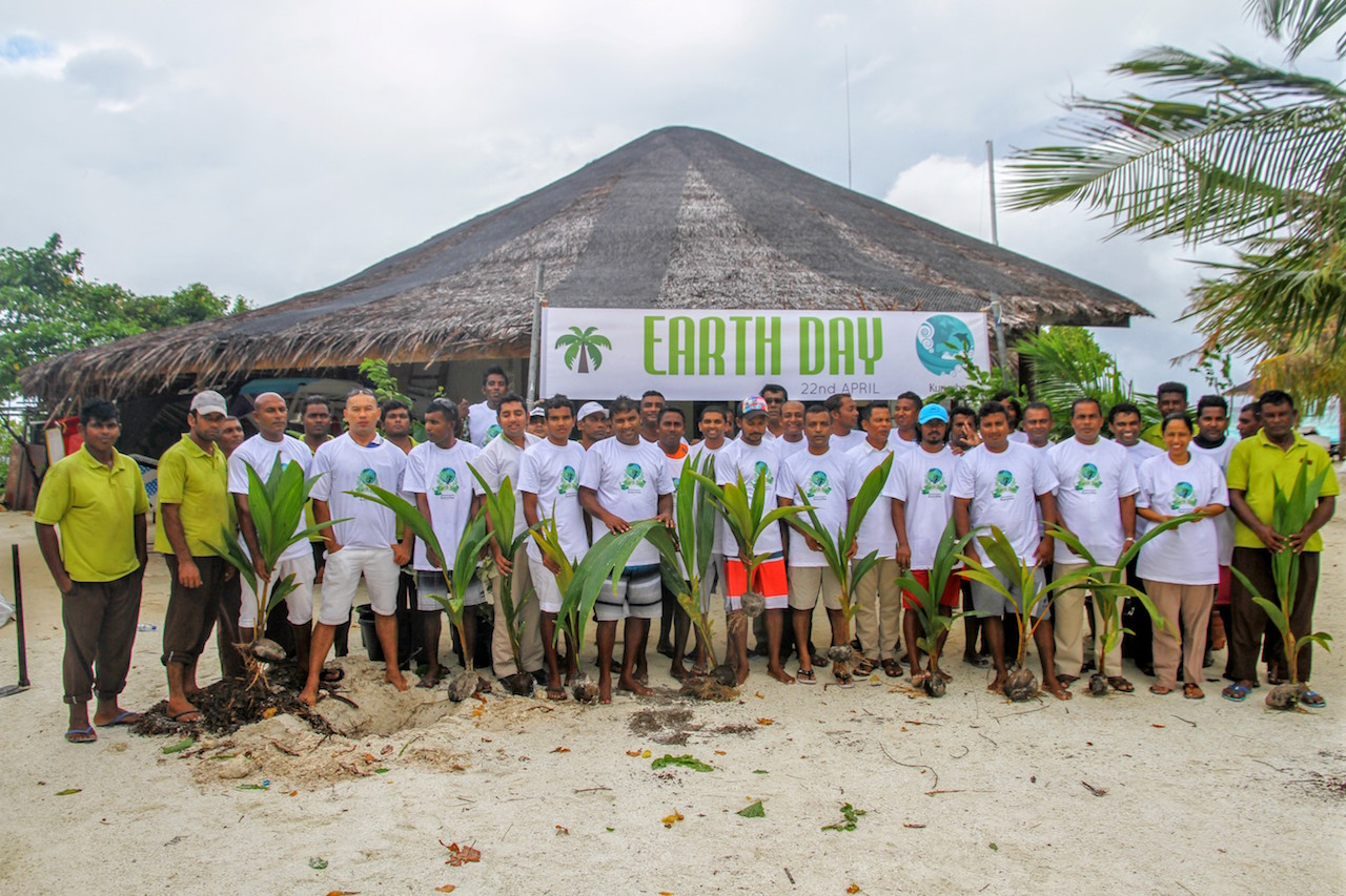 Earth Day 2016 celebrations, Kurumba Maldives