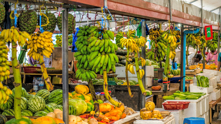 Local Market, Maldives