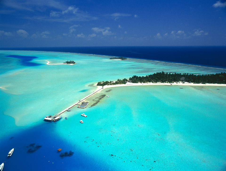 Aerial, Rihiveli by Castaway Hotels & Escapes