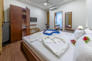 Deluxe Double Room, Dhiffushi White Sand Beach Hotel