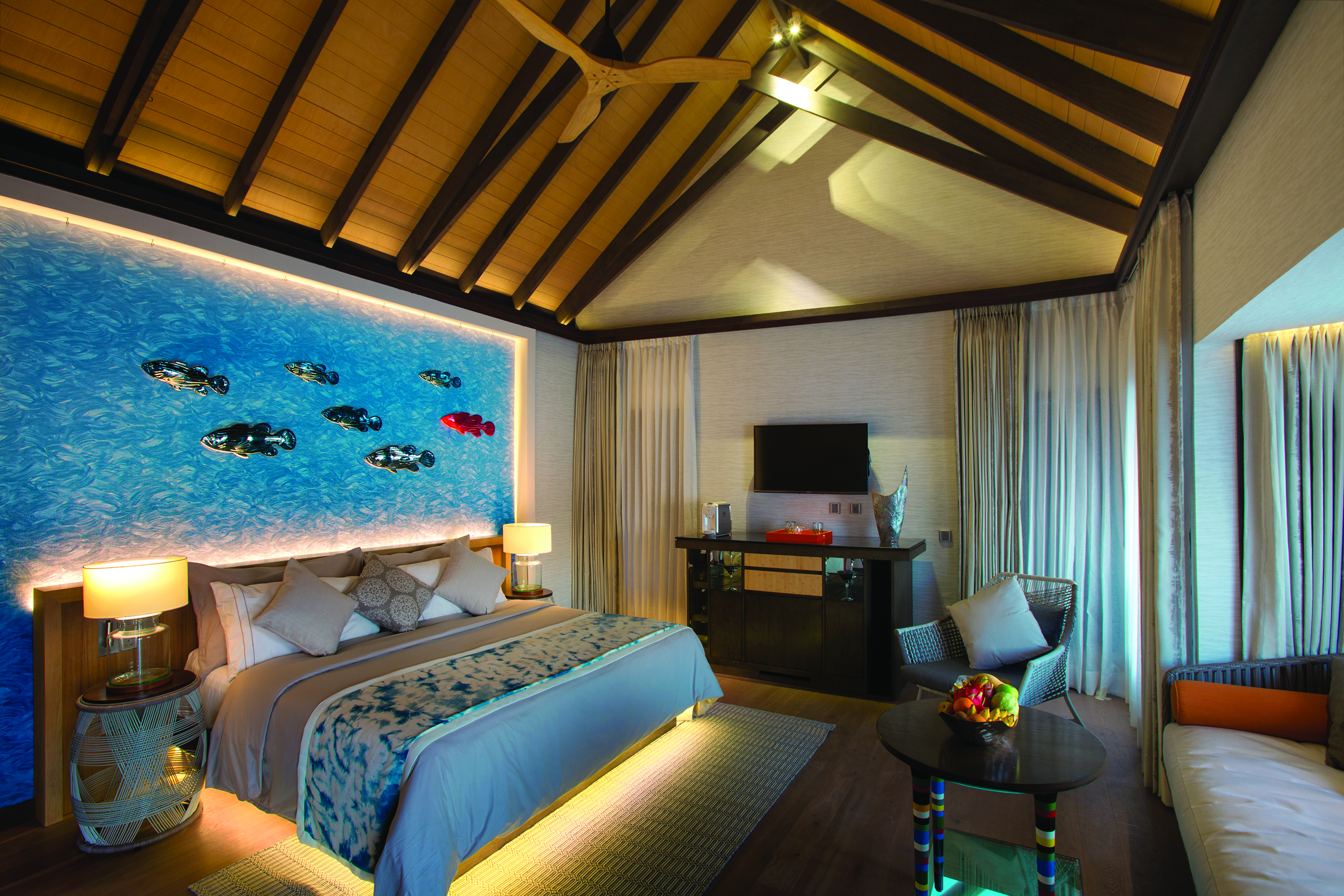 OZEN BY ATMOSPHERE - WIND VILLA WITH POOL - BEDROOM INTERIOR