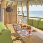 Soneva jani upper deck in villa breakfast