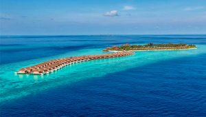 Aerial, Hurawalhi Island Resort