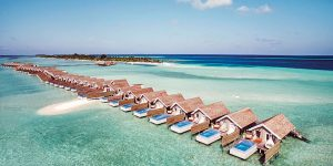 Temptation Pool Water Villas, LUX* South Ari Atoll