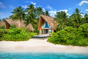 Beach Villa with Pool exterior, The St. Regis Maldives Vommuli Resort