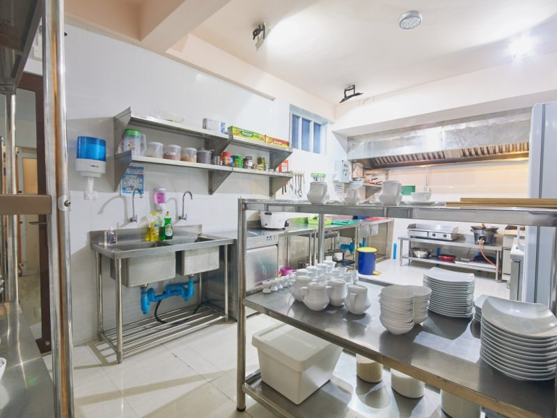 Kitchen, Hotel Lonuveli