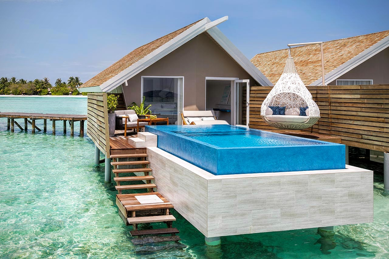 Temptation Pool Water Villa, LUX* South Ari Atoll