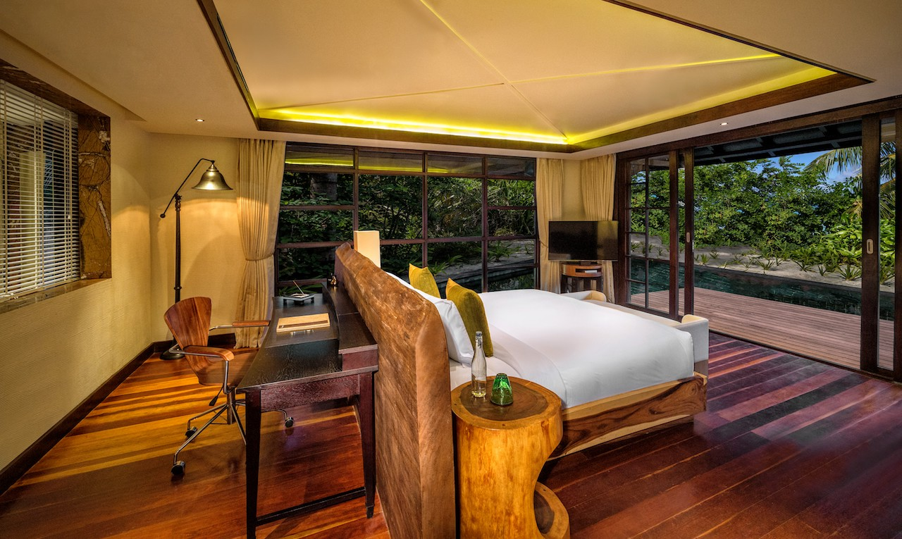 The Suite Master Bedroom, Jumeirah Vittaveli