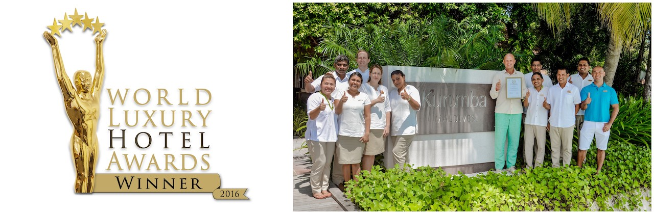 Kurumba Maldives awarded the Best Luxury Family All-Inclusive Hotel in the Maldives by the World Luxury Hotel Awards 2016