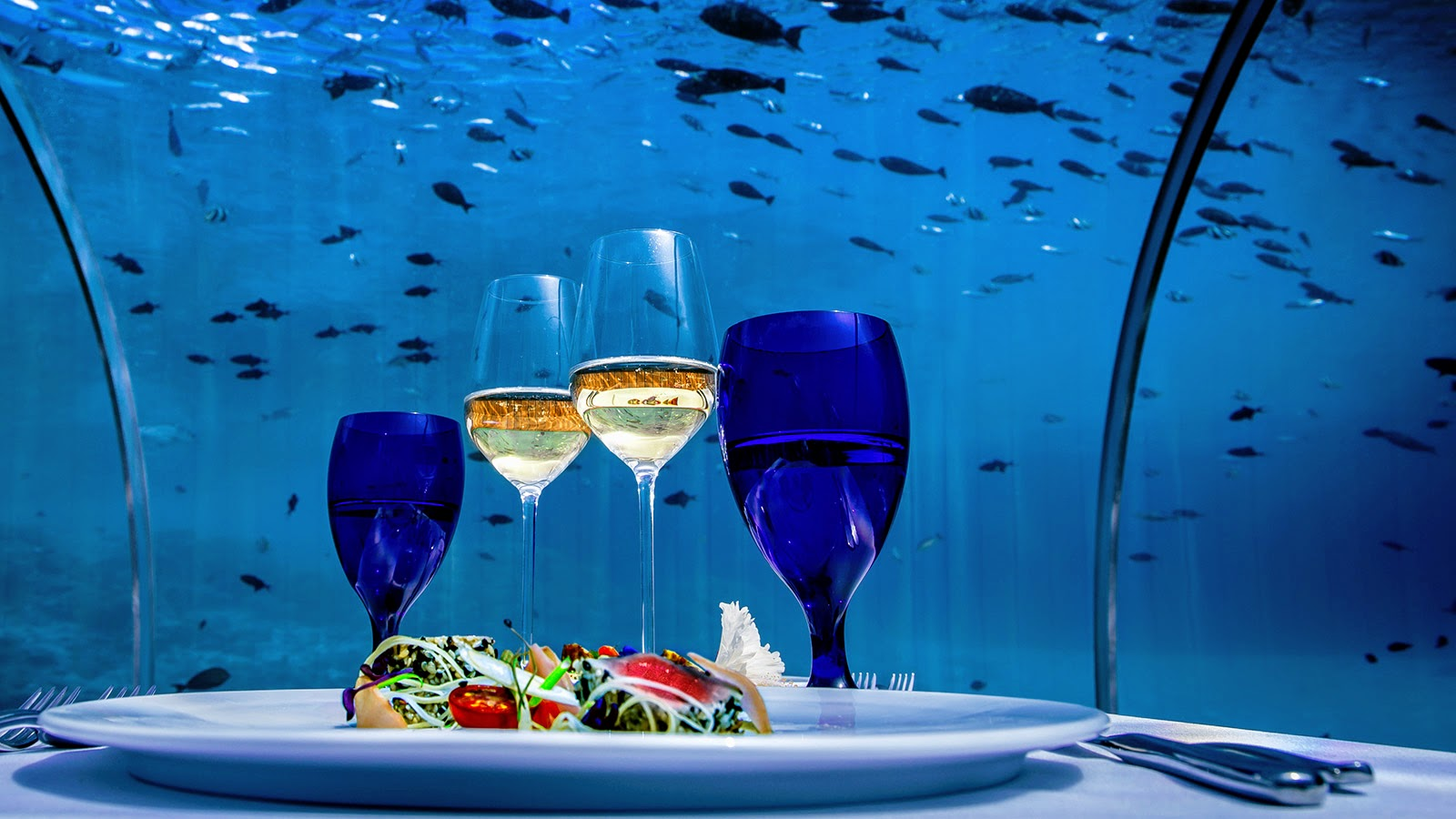 5.8 Undersea Restaurant, Hurawalhi Island Resort