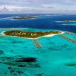 Aerial panorama, Six Senses Laamu