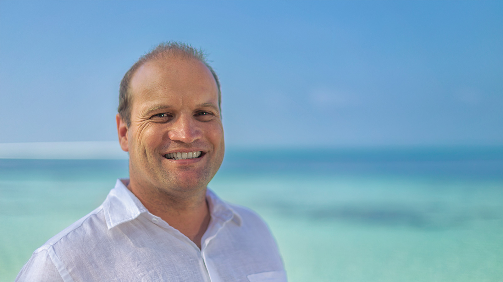 General Manager, Patrick de Staercke, Kuredu Island Resort & Spa, the Maldives