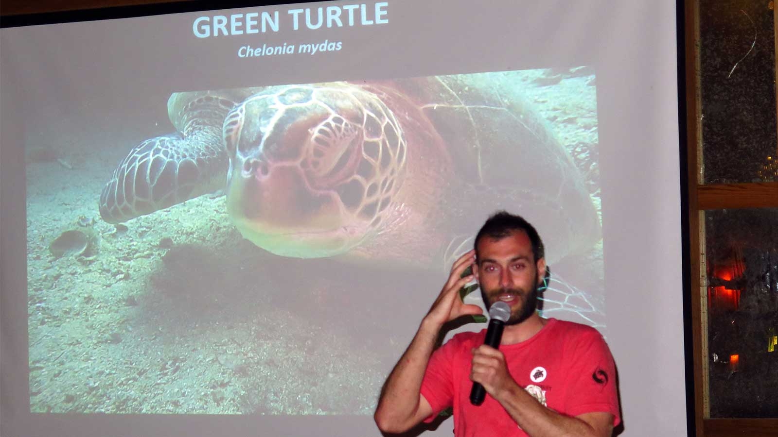 Founder of Olive Ridley Project Martin Stelfox, Hurawalhi Island Resort
