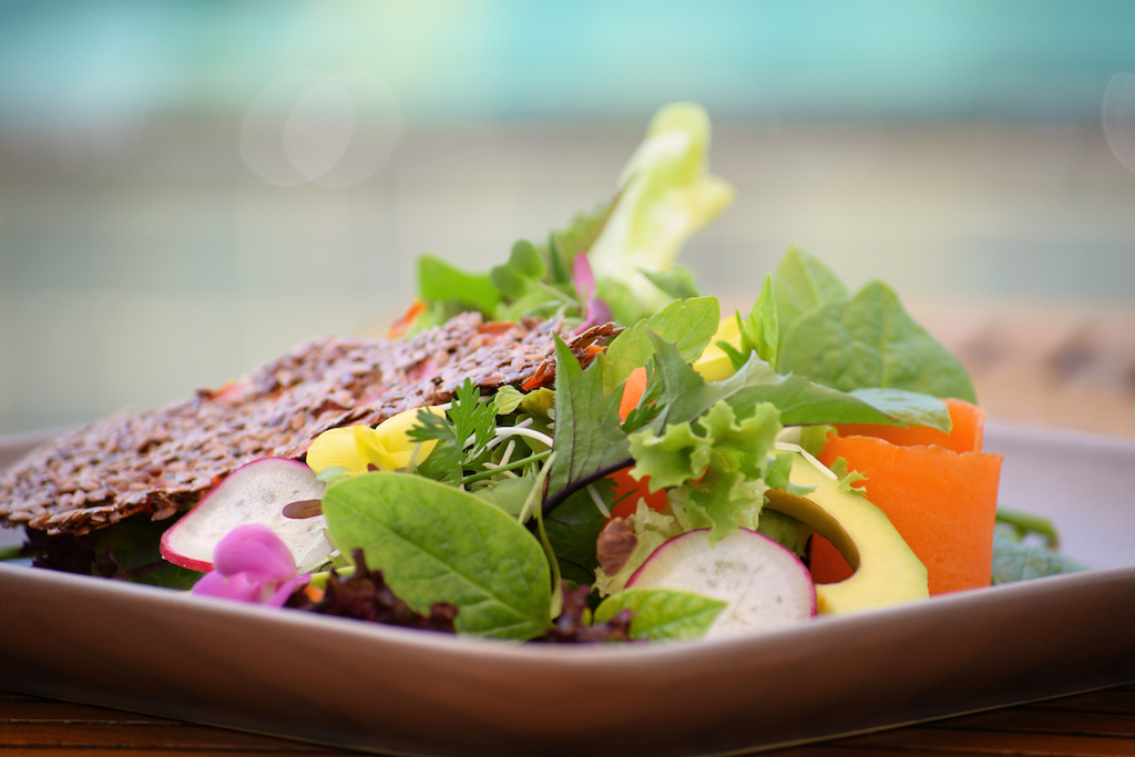 Six Senses Laamu Garden Salad, Six Senses Laamu