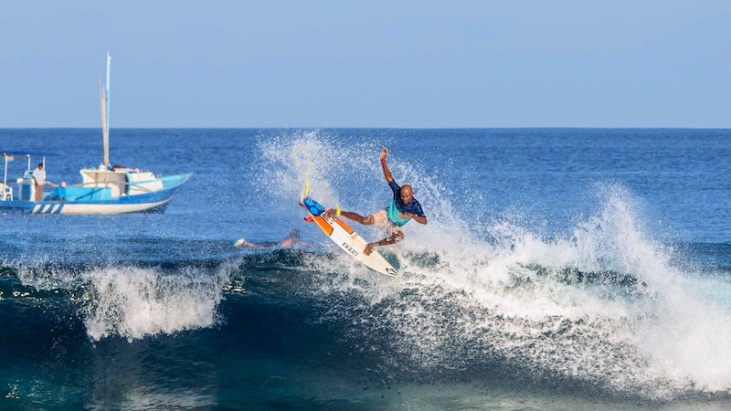 Ismail Miglal, Four Seasons Maldives Surfing Champions Trophy,