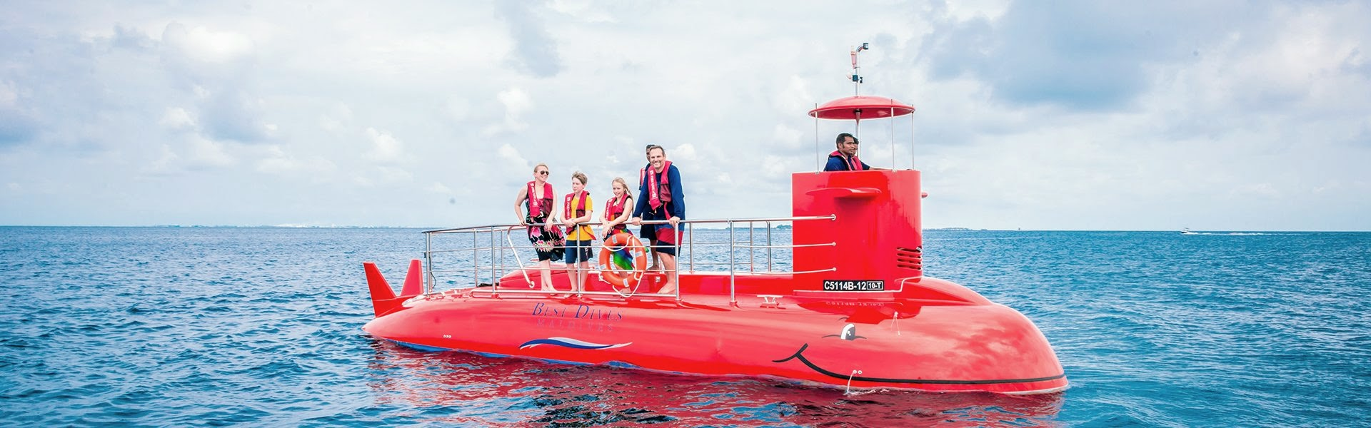 Semi Submarine, Fushifaru Maldives, Best Dives
