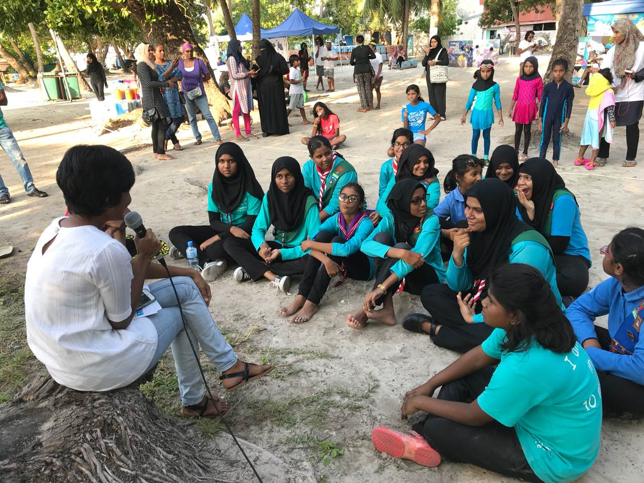 Aisha Niyaz - Eco Talk, Save The Beach Maldives