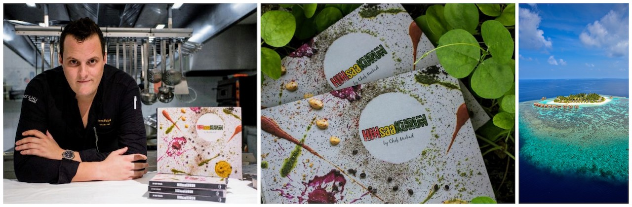 Kandolhu Maldives Launch HIHsaaKURUN – Resort's First Cookbook by Executive Chef Mickaël Farina