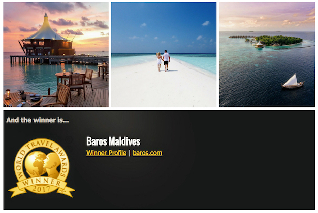 Baros-Maldives-wins-again-at-World-Travel-Awards-2017