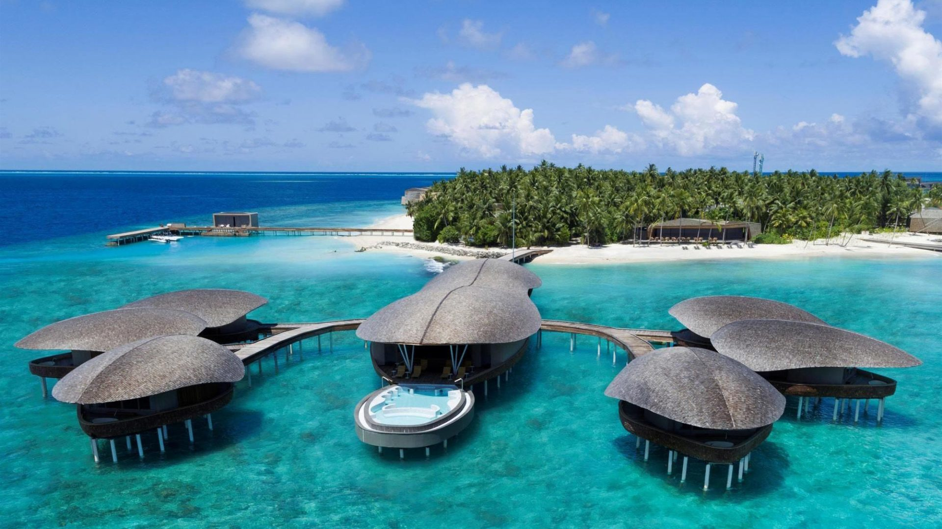 The St. Regis Maldives Vommuli Resort exterior