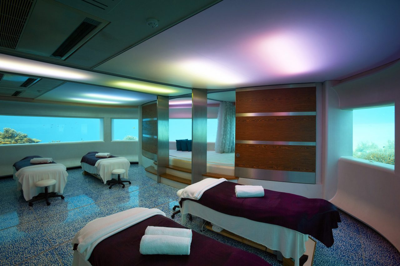 Hevafenspa in Huvafenfushi Maldives - Maldives is competing for the Indian Ocean's Best Spa Destination