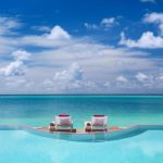 LUX* north male atoll, infinity pool