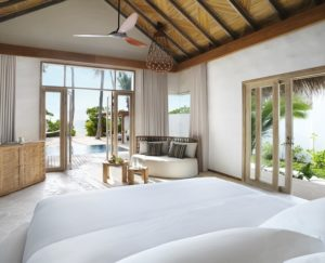 Two Bedroom Beach Sunset Villa, Fairmont Maldives Sirru Fen Fushi