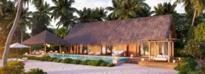 Two Queen Bedded Beach villa with Pool, Waldorf Astoria Maldives Ithaafushi
