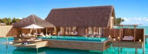 Two Queen Bedded Overwater Villa with pool, Waldorf Astoria Maldives Ithaafushi
