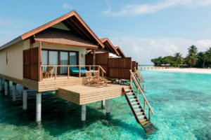 Water Villa, Reethi Faru Resort