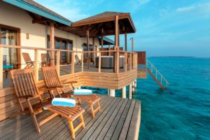 Water Villa Suite, Reethi Faru Resort